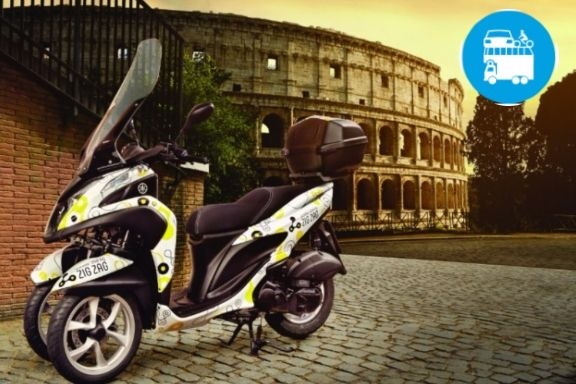 ROMA - AAA offresi scooter sharing elettrico a tre ruote!