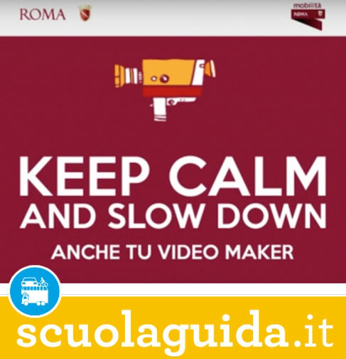 """Keep Calm"" la video campagna per la sicurezza stradale di Roma Capitale!"