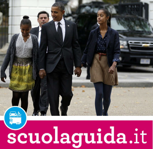 Malia Obama ha preso la patente di guida!